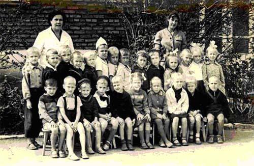 1964 год, первые воспитанники